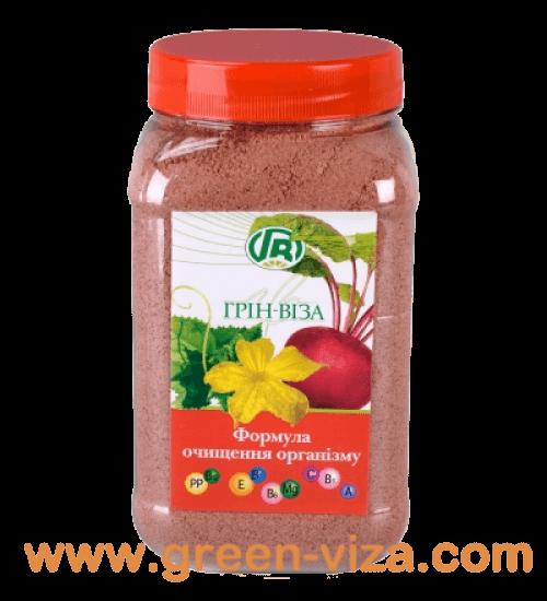 Формула очищения организма - Пищевые волокна семян тыквы со свеклой