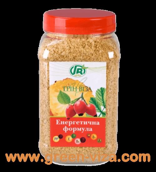 Энергетическая формула - хлопья зародышей пшеницы с шиповником и ананасом