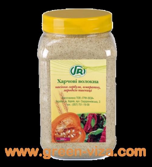 Пищевые волокна семян тыквы, амаранта, зародышей пшеницы