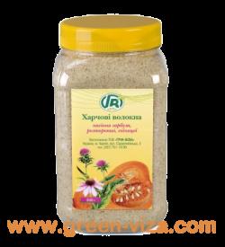 Пищевые волокна семян тыквы, расторопши и эхинацеи