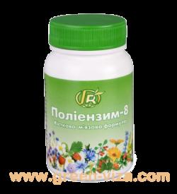 Полиэнзим - 8 Костно-мышечная формула 140г